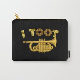 I Toot | Trumpets Music Instrument Carry-All Pouch