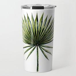Fan Palm Leaf Travel Mug