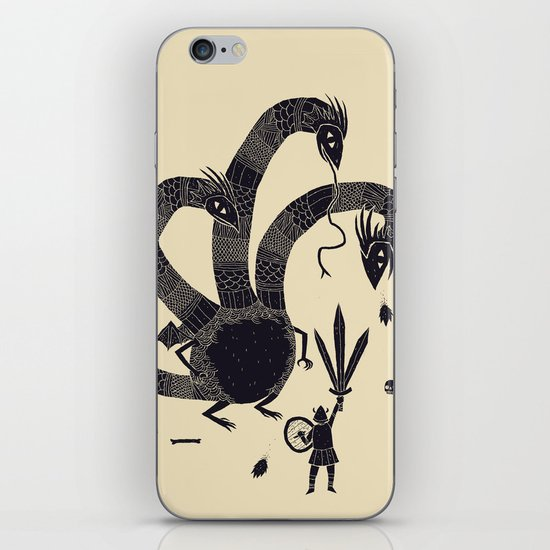 hydra(dark) iPhone & iPod Skin