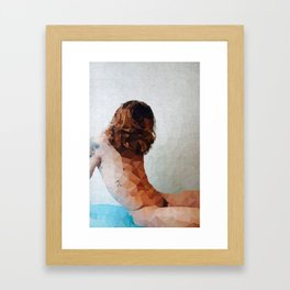 No face guys Framed Art Print