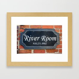 The River Room Framed Art Print