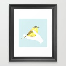 a friend in my hand - 1 Framed Art Print