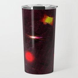 Large purple asteroid Travel Mug
