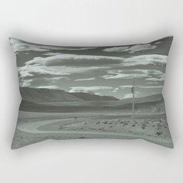 Lonely Road Rectangular Pillow