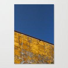 yellow-blue Canvas Print