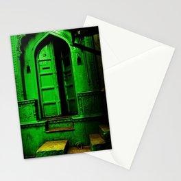 In the Dark Back Allies Secret Doorway Stationery Cards