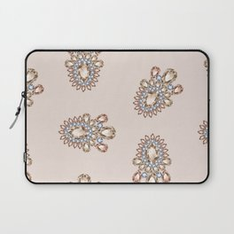 Jewelbox: Morganite Brooch in Light Blush Laptop Sleeve