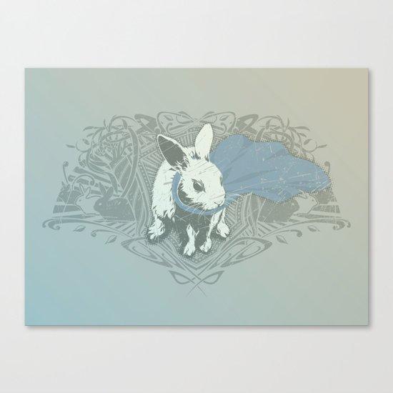 Fearless Creature: Rabz Canvas Print