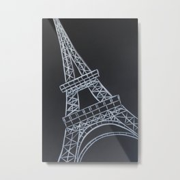 No. 58 - The Eiffel Tower Metal Print
