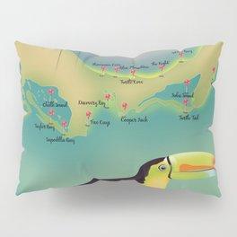Providenciales turks and caicos Pillow Sham