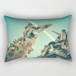 Angels Above Rectangular Pillow