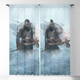 Yarn the Hero Official Art from Nordic Warriors Blackout Curtain