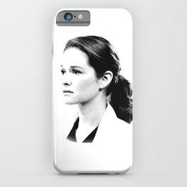 April Kepner iPhone Case