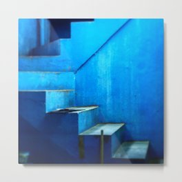 Out of the Blue Series Metal Print