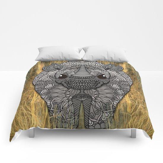 Ornate Rino Comforters