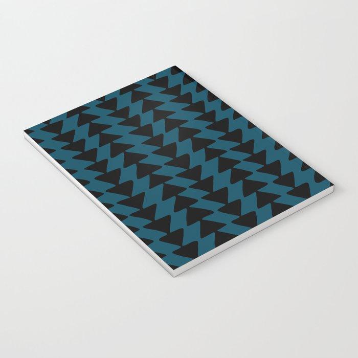 Blue Arrows Notebook