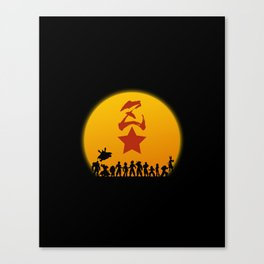 Super Warriors Canvas Print