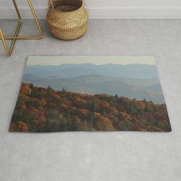 The Blue Ridge Mountains NC, Fine Art Photography Rug