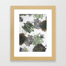 Carbonation Collection: winter Framed Art Print