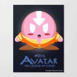 Avatar Kirby Canvas Print