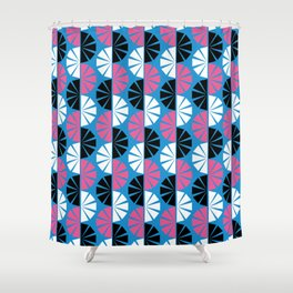 Harajuku Tokyo Fanned Out 2 Shower Curtain