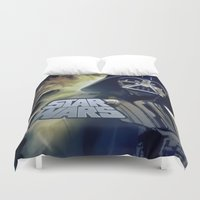 vader Duvet Covers featuring Vader by DisPrints