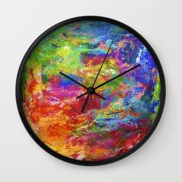 Colourfield #2 Wall Clock