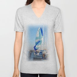 The end of the regatta Unisex V-Neck