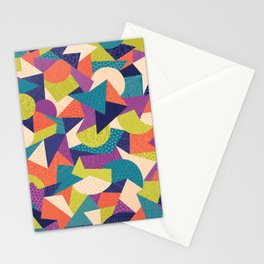 Trendy Abstract Geo Stationery Cards