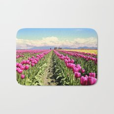 Tulip field Bath Mat