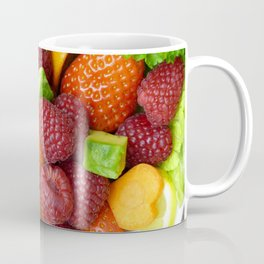 Fruits and Vegetables - Cafe or Kitchen Decor Coffee Mug