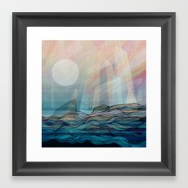 Arctic morning Framed Art Print