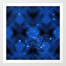 C13D Midnight Sparkle Art Print
