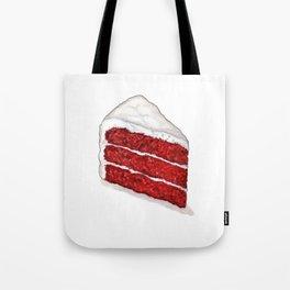 Desserts: Red Velvet Cake Tote Bag