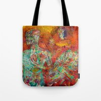 biology Tote Bags featuring Synthetic Biology by Lennon Michalski