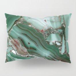 Luxury Malachite Marble Agate Pillow Sham