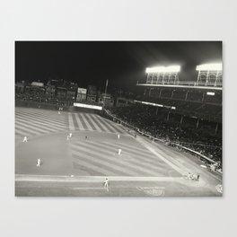 Baseball in April.  Canvas Print