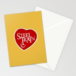 Steel Train Stationery Cards