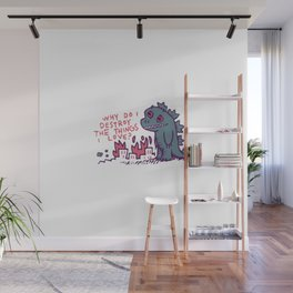Existential Disaster Wall Mural