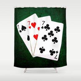 Blackjack Twenty One Shower Curtain