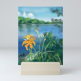 Lillie's on the River Mini Art Print