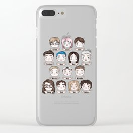 MC Youtubers Clear iPhone Case
