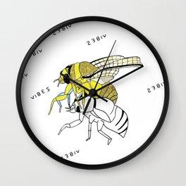 V-I-B-E-S Wall Clock