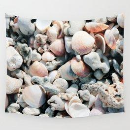 Seashells Wall Tapestry
