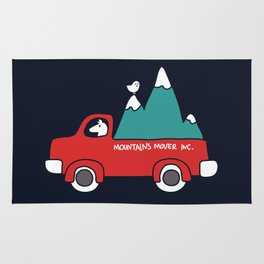 Moving Mountains Rug