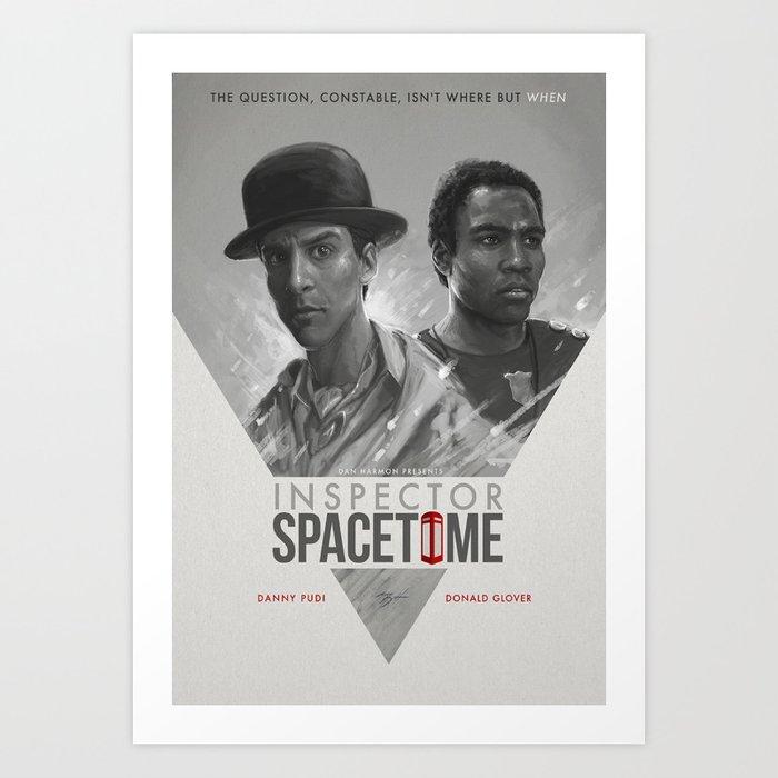 Inspector Spacetime  Art Print