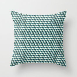 Ocean Tiles Throw Pillow