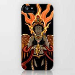 Eternity: Hotaru--Fire Goddess iPhone Case