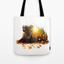 Equinox | Buffalo Tote Bag