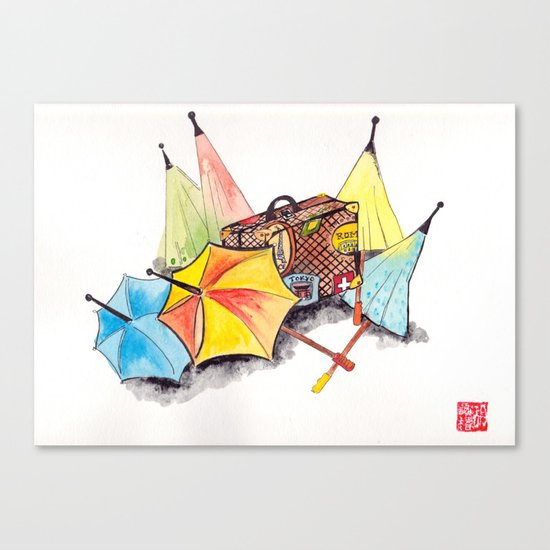 Case and point Canvas Print